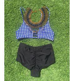 NEW high waist bikini  #StatementNecklace  #ShirlClarkCollection #ShirlClark #YachtWearCollection #SafariCollection #TheSignatureTan #TribalAddiction #KaftanDress #Kimono #CoverUp #wildprints  #YachtLife #LuxuryTravel #Exotic  #ResortLifestyle #bikini #beautiful #tropical #Beach #lifestyle #poolside #resort #fashion #style #WinterPark @ShirlClarkCollection  www.ShirlClark.com
