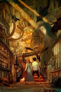 49 Trendy Ideas For Fantasy Landscape Illustration Posts Fantasy Magic, Fantasy World, Illustration Art, Illustrations, Landscape Illustration, Fantasy Places, Fantasy Inspiration, Fantasy Landscape, Fantasy Artwork