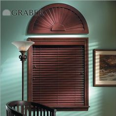 """Graber Traditions 2"""" Wood Blinds"""
