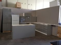 One of our brand new or ex-showroom modern kitchens available at auction this week. Available in a range of colours, designs and styles we can help you find the perfect kitchen for your home at a fraction of the price. If the kitchen isn't quite big enough you can order extra components.