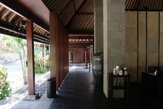 bali pool with column - Google Search