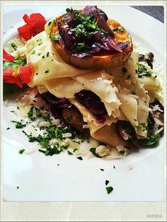 Deconstructed lasagne