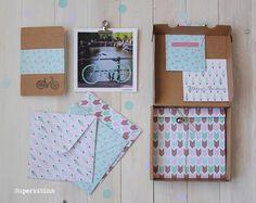Snail mail. Correo postal. El paquete que preparé esta navidad para Janette ya en el blog