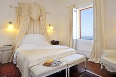 Now decorated in airy white and cream colours, the house was a former summer residence for...