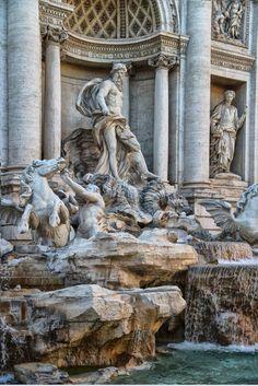 Fuente de Trevi, Roma.