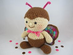 Crochet Butterfly Plush, Crochet Stuffed Toy, Stuffed Butterfly, Toy Butterfly, Amigurumi Butterfly by CROriginals