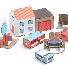 Paper Town Kit