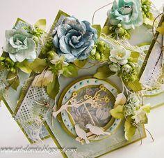 Dorota_mk Scrapbooking, Scrapbook Paper, Shabby Chic Cards, Anna Griffin Cards, Bird Cards, Scrapbook Designs, Crafty Craft, Altered Art, Embellishments