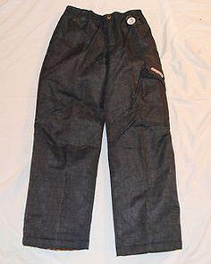 Starting Bid $19.99 #ebay #shopping Boys Zero X Posur Snow Pants Black Denim Size 14/16 New w Tags Free Shipping
