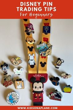 Disney Pin Trading Tips for Beginners - We've got a guide to help you navigate the art of trading Disney pins. We'll walk you through it all so you can head into the park with confidence! | #DisneyTravel #DisneyPins