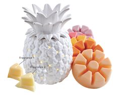 Place two to four Scent Plus® Melts into the top dish of your ScentGlow® Warmer or Fragrance Warmer #PartyLite
