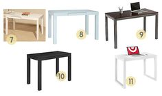 Parsons desks at any price point