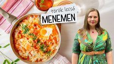 Menemen török lecsó recept