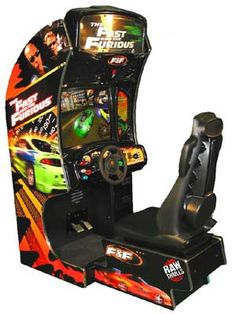 The Fast and the Furious arcade game