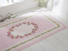 englishhome halı #englishhome #halı #pink #roses #shabbychic