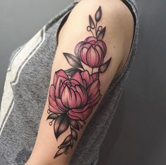 Pink peonies by The Lady Fox