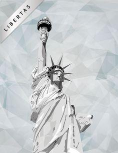Lady Liberty - ( La Liberté éclairant le monde)