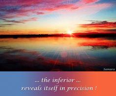 ... the #inferior ... reveals itself in precision !