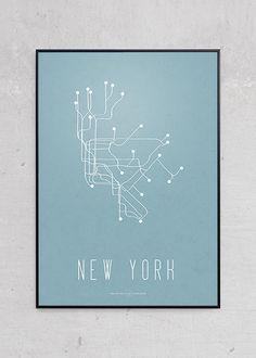 Plakater online | shop grafiske plakater hos Just Spotted