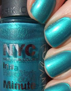 i love this color NYC in A NY Minute Quick Dry Nail Polish, East Village $5.25