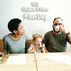 """""""For the day we became three"""" #OurDay"""