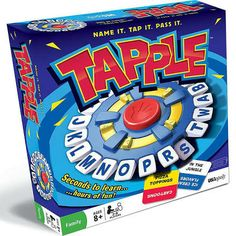 Tapple Board Game. ...could be fun... could turn into a mangled piece of non-functioning plastic very quickly.  time will tell