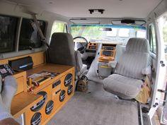 Custom Van Interiors Maple dash
