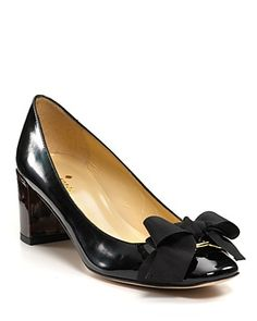 low, chunky heel, great for long days at the office