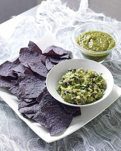 Sinister Salsa: Guacamole with Black Beans Recipe for Halloween