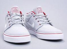 """Nike Zoom Stefan Janoski Mid """"Wolf Grey"""""""