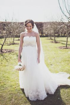 enzoani bride dress timeless family pastel wedding http://www.annahardy.co.uk/