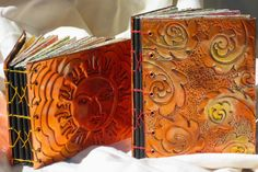 my copper repousse journals-Doris Arndt