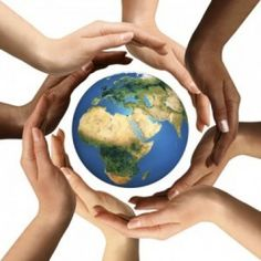 Conceptual symbol of multiracial human hands surrounding the Earth globe. Unity, world peace, humanity concept. Free art print of Multiracial Hands Surrounding the Earth Globe. We Are The World, Our World, Change The World, Earth Month, Earth Day, Planet Earth, Idees Cate, Be Kind To Everyone, We Are All Connected