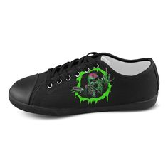 Thelma Fisher Skull Women's Breathable Casual Canvas Shoes Sneakers -- Want to know more, click on the image.