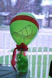 Teenage Mutant Ninja Turtle birthday party!
