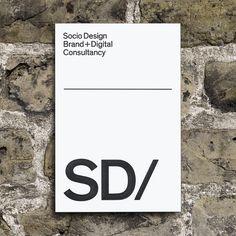 SD/ Brand by Socio Design, via Behance