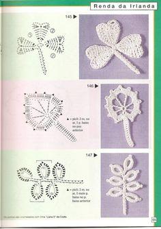 Gallery.ru / Фото #64 - Pontos de croche 205 идей - accessories