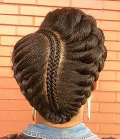 hair bridal natural hairstyles for black women Natural hair protective styling for natural hair. Easy hair updo to create for the summer seasonNatural hair protective styling for natural hair. Easy hair updo to create for the summer season Pelo Natural, Natural Hair Updo, Belleza Natural, Natural Hair Care, African Hairstyles, Girl Hairstyles, Braided Hairstyles, Natural Hairstyles, Black Hairstyles