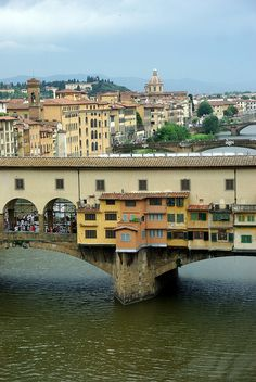 Ponte Vecchio, Florence, Italy Lovely Florence!   www.facebook.com/loveswish
