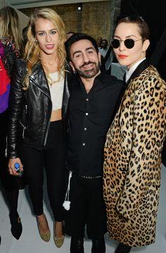 Alice Dellal, Johnny Coca, and Noomi Rapace