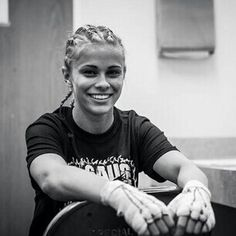 Pinterest: @Gabi Janai::Paige VanZant... Very inspiring fighter