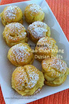 Vietnamese Food, Vietnamese Recipes, Durian Cake, Cake Recipes, Dessert Recipes, Cream Puff Recipe, Choux Pastry, Pastries, Brownies