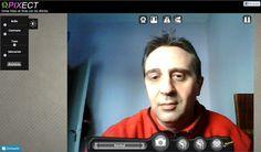 Pixect: utilidad web para tomarte fotos con tu webcam, aplicarles bonitos efectos y compartirlas