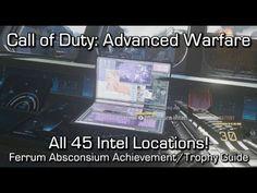 Call of Duty: Advanced Warfare Intel Locations Guide