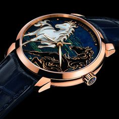 Ulysse Nardin Introduces 2014 with the Classico Horse Ulysse Nardin Classico Horse (See more at En/Fr: http://watchmobile7.com/articles/ulysse-nardin-classico-horse) (1/3) #watches #ulyssenardin
