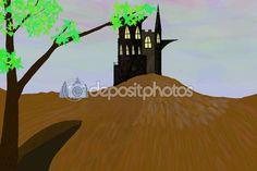 Старый замок сказки — Стоковое фото © maikal777 #117214504