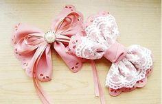 DIY Crafts : DIY make hair bows