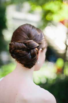 Hairstyle | Photo by Ampersand Photography | http://www.stylemepretty.com/2013/11/19/washington-d-c-wedding-from-ampersand-photography/