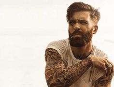 few Trending Undercut Hairstyles with Beard On Pinterest Right Now!