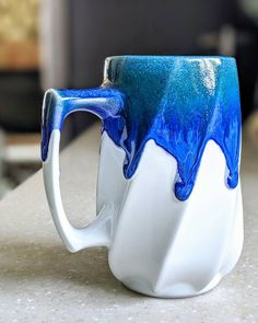 One-of-a-kind Handmade Porcelain Mugs and Ceramic Art in Colorado Glazes For Pottery, Pottery Mugs, Ceramic Pottery, Porcelain Mugs, Ceramic Cups, Ceramic Art, Pottery Designs, Mug Designs, Pottery Ideas